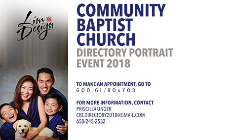 Directory Portrait Event 2018